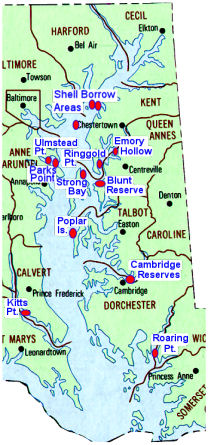 2003 Oyster Mapping Project coverage